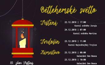 Betlehemské svetlo prinesieme aj tieto vianoce!