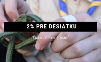 2-3% pre skautov