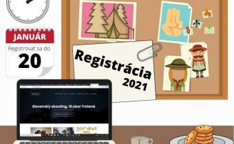 Registrácia 2021
